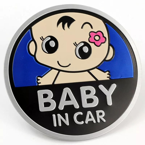 Placa Baby In Car Uso Universal Autos