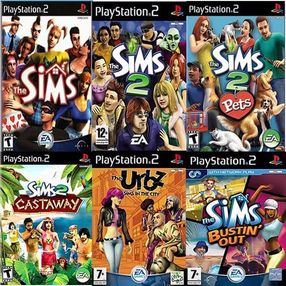 Patche The Sims Coletanea 6 Jogos Para Ps2 Atencao É Patche!