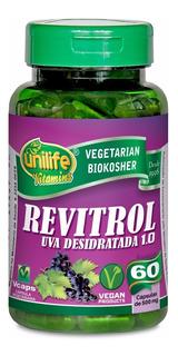 Kit 3 - Uva Desidratada Unilife - Resveratrol - 60 Cápsulas