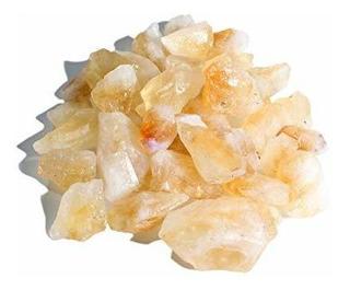Dey Diseñ Piedras 1/2 Lb Citrino Piedras Bruto Naturales E