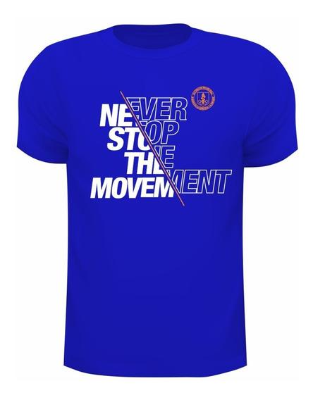 Camiseta Dry Fit De Poliamida Com Uv50+ Never Stop