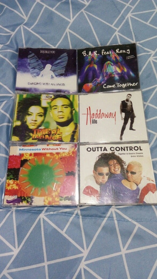 Lote Cd Maxi Single Euro Dance 90