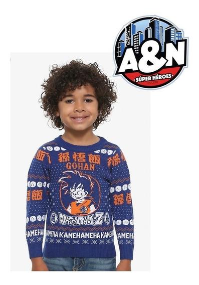 Sweater Gohan Dragon Ball Z Niño Talla 4