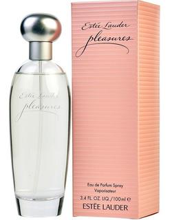 Loción Perfume Pleasure Estee Lauder M - L a $2450