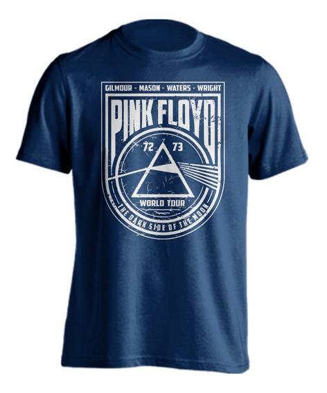 Playera Pink Floyd World Tour 1 Rock David Gilmour Ro Waters