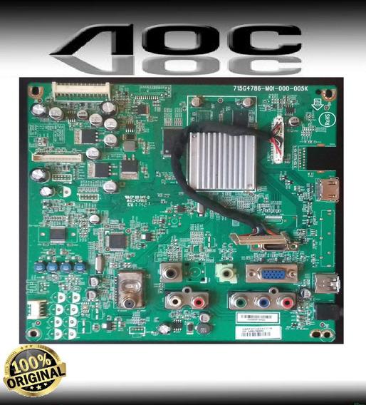 Placa Principal Da Tv Aoc Modelo Le22h158 Original