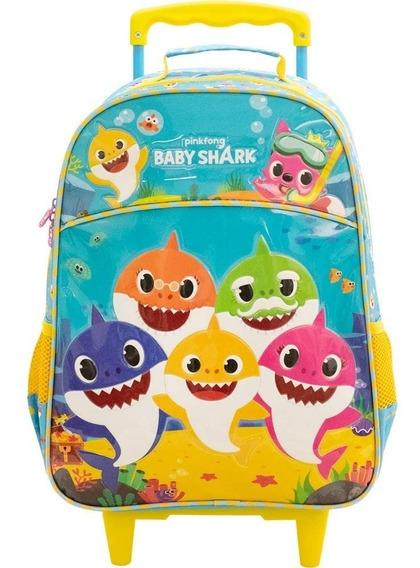 Mochilete Baby Shark Family Xeryus - 9030