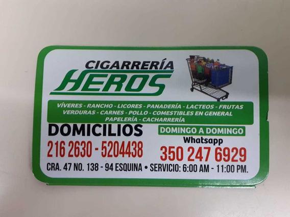 Cigarrería Acreditada 35 Años Prado Pinzón Bogotá Norte