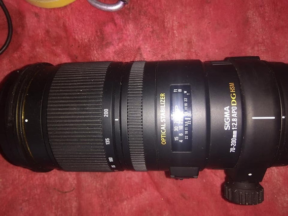 Lente Sigma 70-200mm Para Nikon Dg Fx