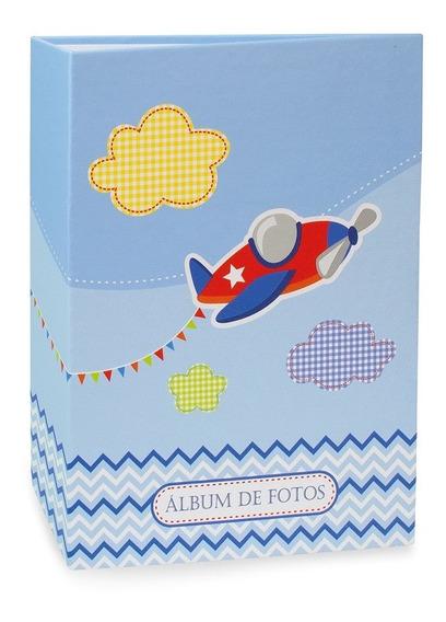 Álbum Bebê Rebites Solda Avião Menino 120 Fotos 10x15