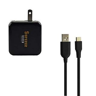 Portatil Rapido Qc 20 Ac Wall Home Cargador Para Blu Energy