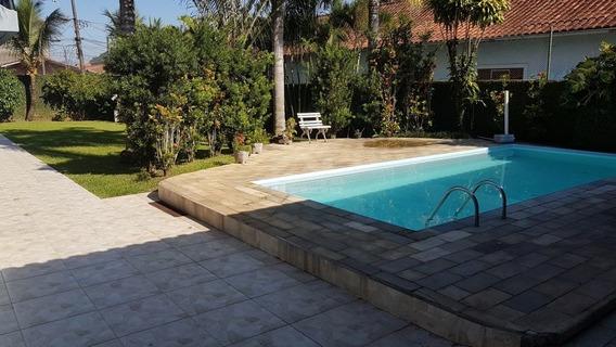 Casa Espetacular No Forte, 4 Suítes, Piscina, Churrasqueira, Só Na Imobiliária Em Praia Grande. - Mp13358