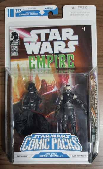 Comic Packs Star Wars#1 Darth Vader Grand Moff Trachta