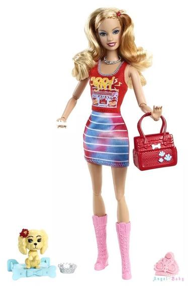 Barbie Fashionistas Summer 2011 Com Pet Articulada