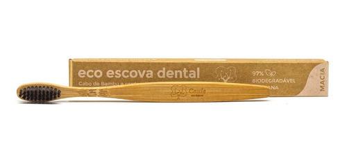Escova De Dentes De Bambu 97% Biodegradável - Caule