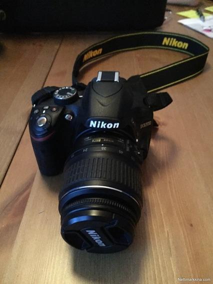 Nikon D3200 Com Lente 18-55