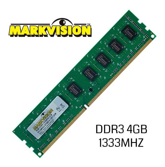 Memoria 4 Gb Ddr3 Markvision Pc