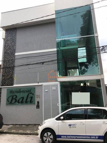 Imagem 1 de 12 de Apartamento À Venda, 38 M² Por R$ 185.000,00 - Vila Pedroso - São Paulo/sp - Ap0030
