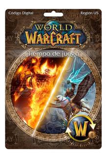 World Of Warcraft 30 Días America (digital Key) -ficha Wow