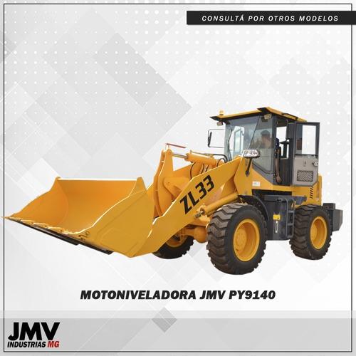 Pala Cargadora Jmv Zl33 La Mas Potente Del Mercado 116hp 1m3