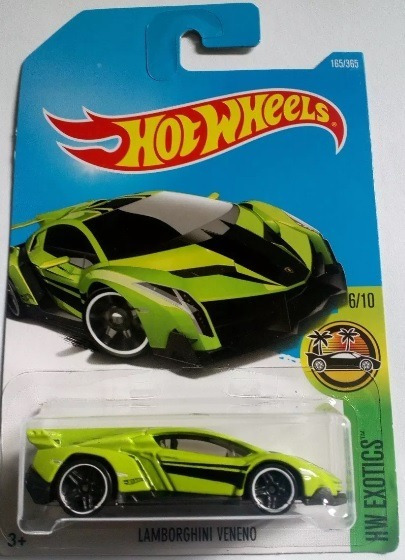 Miniatura Hot Wheels Lamborghini Veneno - Série Hw Exotics !