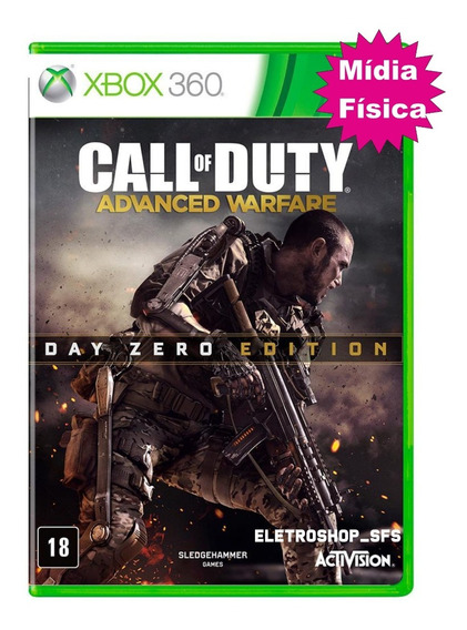 Call Of Duty Advanced Warfare Jogo Xbox Original Midia Fisic