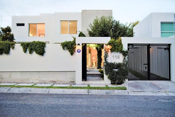 Excelente Casa Moderna En Venta O Amueblada En Renta, En Misiones Juriquilla