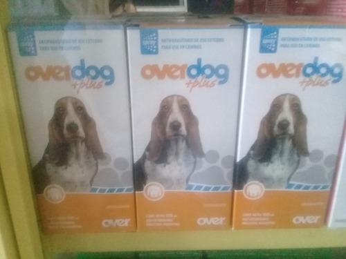 Spray Overdog Plus  100 Ml Garrapaticida Externo Para Perros