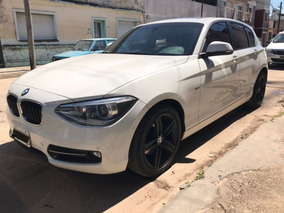 Bmw 118i Sport A/t 30.000 Km Blanco $550.000