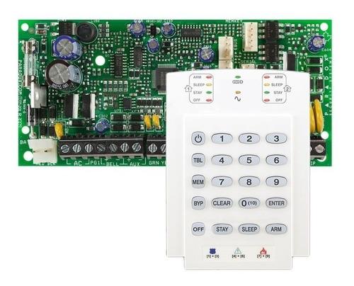 Kit Central Alarma 5x2 Zonas Paradox Sp5500 + Teclado K10