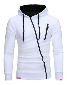 Blusa De Moletom Slim - Blusa De Frio Masculina Angle