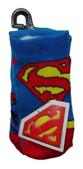 Set X3 Medias Superman Niños Talla 3-5t Regalo Navidad Amor