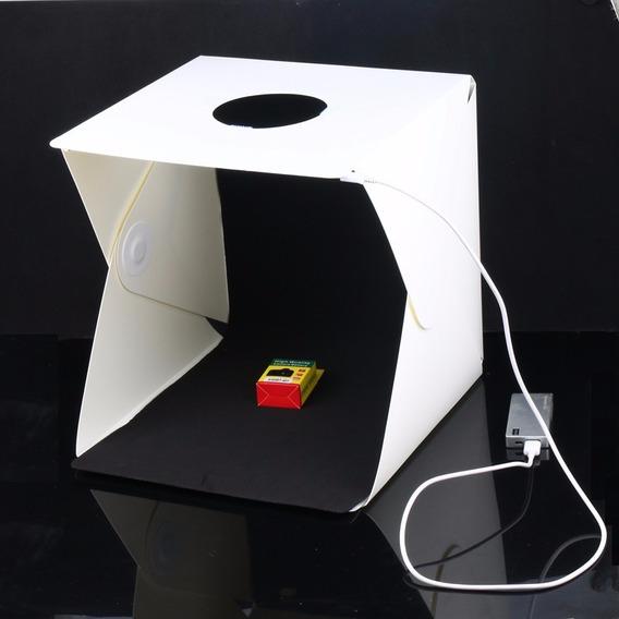 Mini Estudio Fotográfico Tenda Studio Foldio +luz Led Gratís