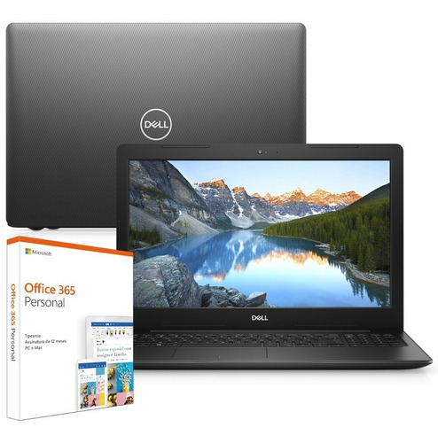 "Notebook - Dell I15-3584-m10f I3-7020u 2.30ghz 4gb 1tb Padrão Intel Hd Graphics 620 Windows 10 Professional Inspiron 15,6"" Polegadas"