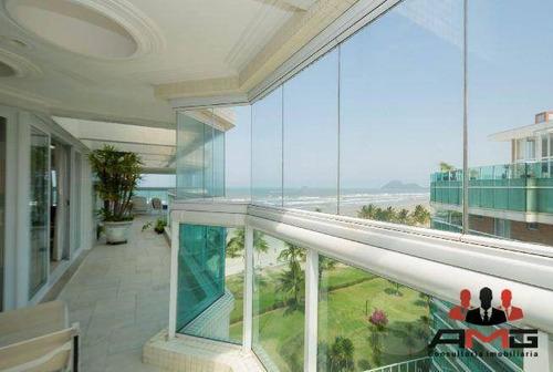 Cobertura Com 5 Dormitórios À Venda, 392 M² Por R$ 12.000.000,00 - Riviera - Módulo 7 - Bertioga/sp - Co0298