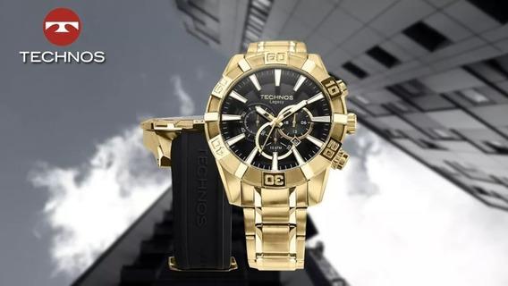 Relógio Technos Masculino Legacy Sport Os2aajac/4p + Nf