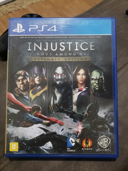 Injustice Gods Among Us Ultimate Edition Ps4 Física