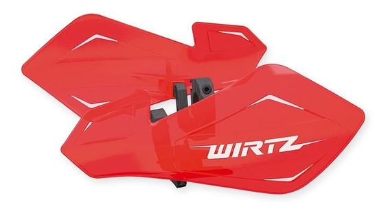 Cubre Manos Puños Flotantes Wirtz® Shock Honda Tornado