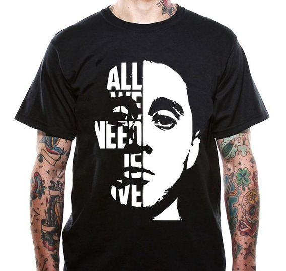 Playera Canserbero Epico Musica Rap Hip Hop All We Need Is L