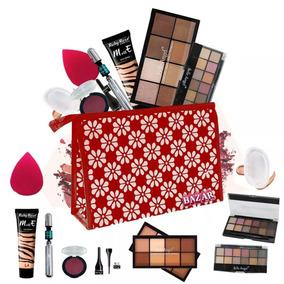 Kit Maquiagem Belle Angel Base Ruby Rose E Brindes Bzkt13
