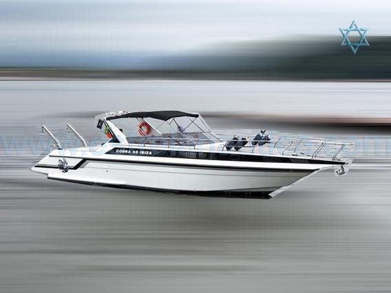 Lancha Cobra Ibiza 40 Barco Iate N Phantom Cimitarra Azimut