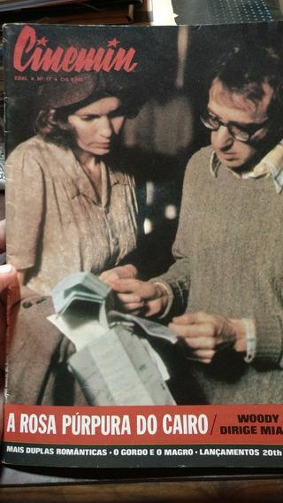 Revista Cinemin - Ebal - Nº 17 Ago/85 - Woody Allen Madonna