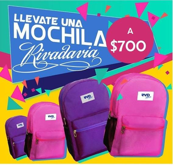 Mochila Rivadavia Rvd Escolar Urbana