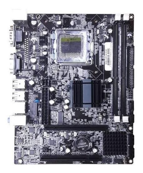 Placa Mãe G41t 775 Ddr3 Suporta Core 2 Duo Core 2 Quad Nova