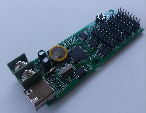 Controladora P/ Pequenos Painéis Full Color Hc-1 Hub 75