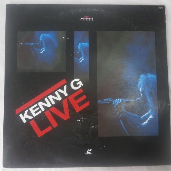 Ld Laser Disc Kenny G Live 1989, Importado Japão Com Encarte