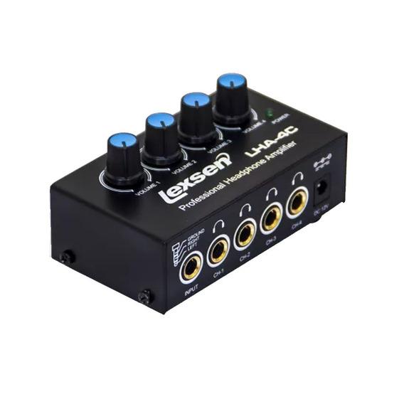 Amplificador De Fones De Ouvido Lha4c Lexsen