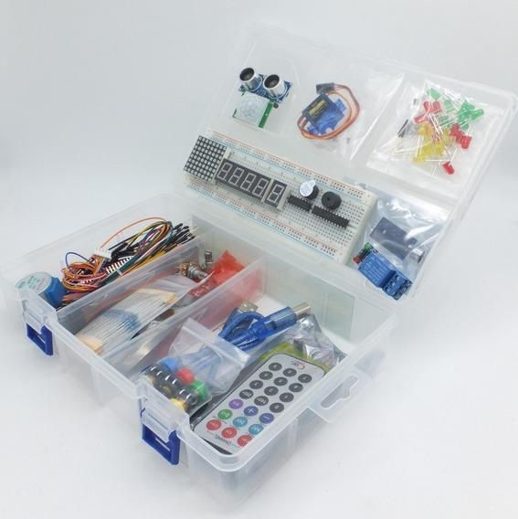 Arduino Starter Kit Uno O Mega Kit Básico Economico Y Libros