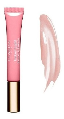 Clarins Eclat Minute Gloss Labial Cor 01 Rose Shimmer 12ml