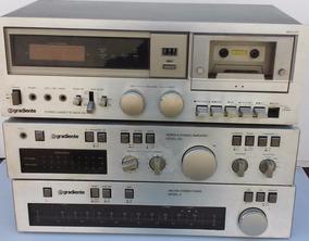 Amplificador Model 166/turner Am/fm Model 9 Gradiente Brinde